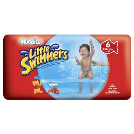 Huggies Little Swimmers Disposable Swimpants, Large, 10-Count (Pack Of 4) front-124713