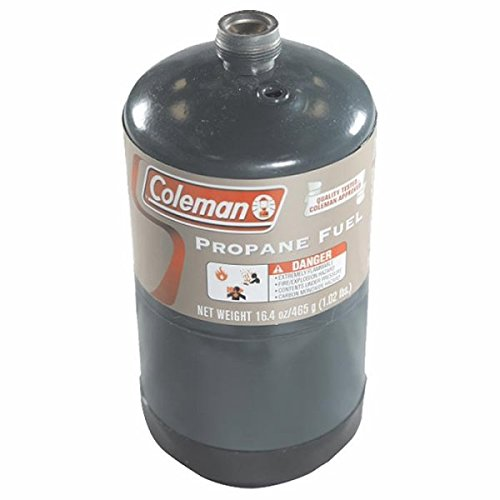Coleman 333264 Propane Fuel Pressurized Cylinder, 16.4 Oz (Can Propane compare prices)