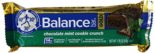 Balance Bar, Chocolate Mint Cookie Gold Bar, 1.76 oz (Balance Energy Bars compare prices)