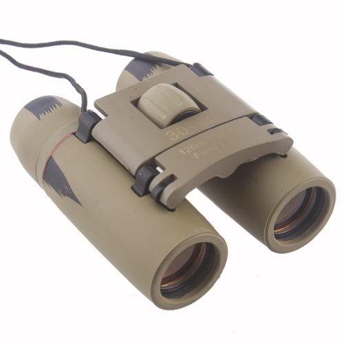 Neewer® Compact Khaki 30 X 60 Binoculars 8X Magnification 126M/1000M Viewing Field For Yachting Hunting Bird Watching And Other Outdoor Activities