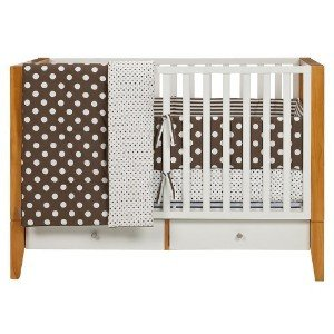 Dwell Studio for Target Chocolate Dots Three Piece Crib Set
