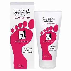 Alpha Hydrox Extra Strength Deep Therapy Foot Cream 4 oz.