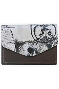 Fluffy Co Leather Owls Card Case