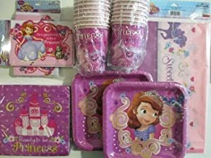 Sofia the First Princess Party Pack - by Hallmark