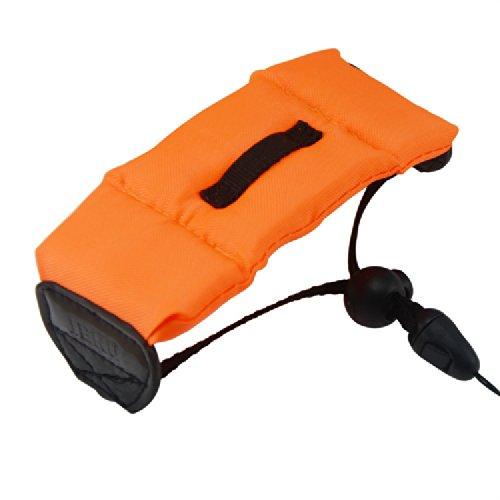 First2savvv orange Floating Strap Trageriemen Schwimmende Handschlaufe Armschlaufe - wasserdichte Kameras strap für Canon PowerShot SX600 HS PowerShot N100 Nikon COOLPIX S9700 COOLPIX S9600 COOLPIX S32 OLYMPUS TG-850 FUJIFILM FinePix XP70 FUJIFILM X-Q1 Canon PowerShot SX600 HS PowerShot N100 mit Kartenleser
