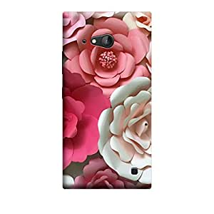 iCover Premium Printed Mobile Back Case Cover With Full protection For Nokia Lumia 730 (Designer Case)