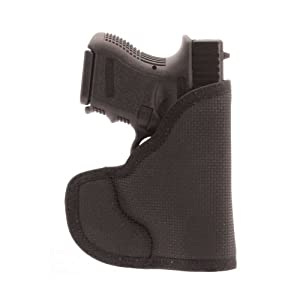 DESANTIS N38 The Nemesis Pocket Holster Ambidextrous Black Glock 26/27