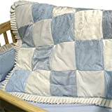 Baby King Blue Cradle Bedding-Size: 18x36