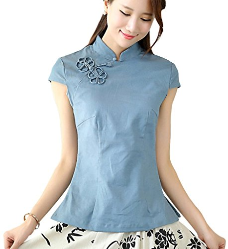 shanghai-story-chinese-oriental-cap-sleeve-tang-qipao-top-blouse-6-blue