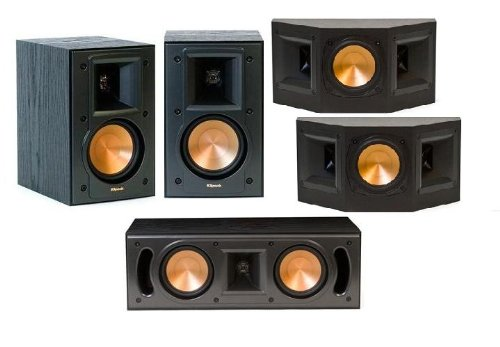 Klipsch Reference 5.0 Surround Sound Speaker Package (Black)