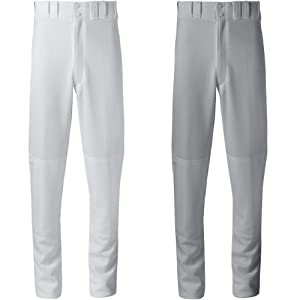Buy Mizuno Premier Relaxed Fit Adult Pants Grey Large by Mizuno