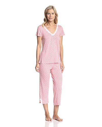 René Rofé Women's Moonlight Kiss Pajama Set