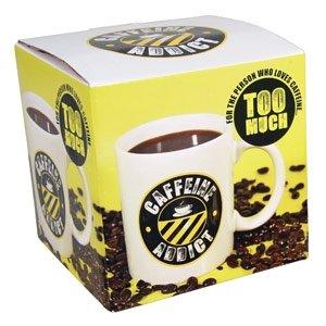 Shopping!: Taza Caffeine Addict para adictos al café