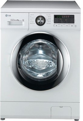 LG F1496TDP23 Fully-automatic Front-loading Washing Machine (8 Kg, Blue and White )