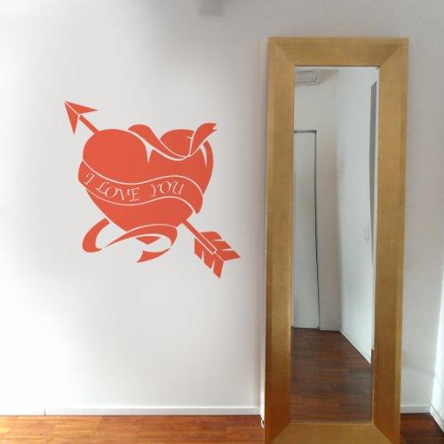 Amore Tatoo - Adesivi Murali - Wall Stickers per la decorazione della casa e delle camerette