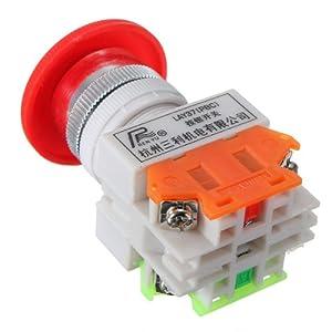 Bouton Interrupteur d'arrêt d'urgence Commutateur Moteur bouton 600V 10A Pr CNC
