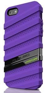 Musubo Hypergrip MU11020PE Mobile Case for iPhone 5 (Purple)