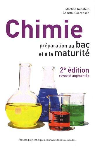 chimie ; préparation au bac et à la maturité