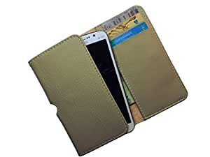 ATV PU Leather SAND Color Pouch Case Flip Cover For SAMSUNG I9505 GALAXY S4