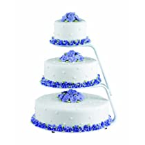 Floating 3-Tier Round Cake and Cupcake Stand