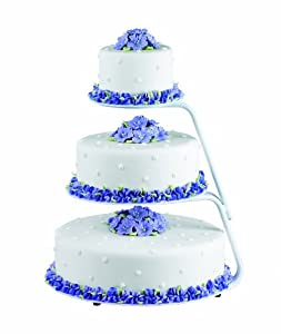 Wilton 307-710 3-Tier Round Floating Cake and Cupcake Stand