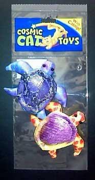(Price/1)Silky Ocean Turtle Catnip Toy 2pk