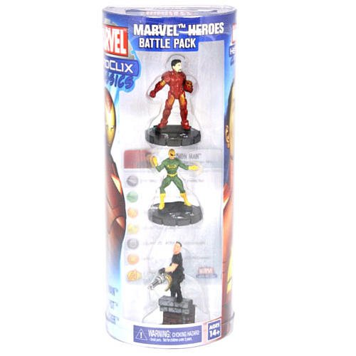 "Hero Clix ""Marvel Hero"" Battle Pack by NECA"