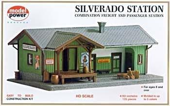 Model Power 605 Silverado Station Freight & Passenger Station Ho/1:87 New