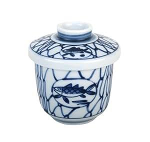 Japanese chawan mushi bowl fish kitchen home for Fish bowl amazon