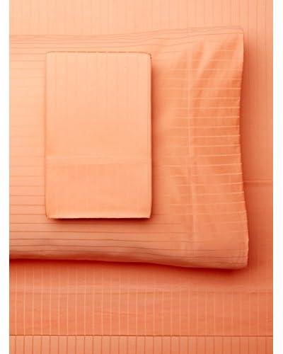 Westport Linens Egyptian Cotton Pinstripe Jacquard Sheet Set
