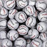 Baseballs Premium Solid Milk Chocolate Balls (1 Lb - 80 Pcs)