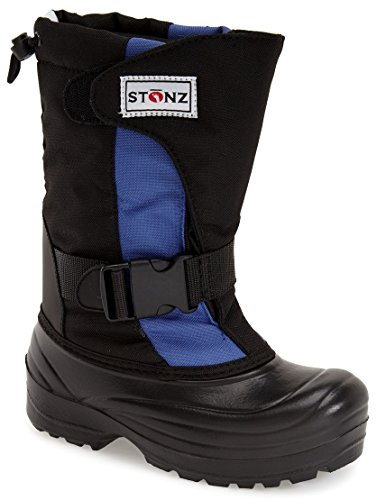Stonz Winter Boots For Cold Weather, Snow, Ice and Winter Sports - Insulated, Super Light, Warm, Slate Blue/Black, Toddler 8 (Canada Snow Shoes compare prices)