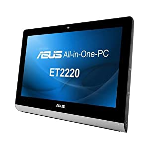 Asus ET2220IUTI-B027K 54,6 cm (21,5 Zoll) All-in-One Desktop-PC (Intel core i3 3220, 3,3GHz, 4GB RAM, 500GB HDD, Intel HD 2500, Win 8)