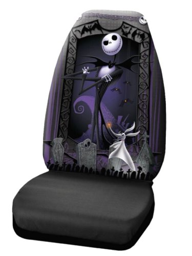"""Plasticolor 006949R01 """"Nightmare Before Christmas"""" Seat Cover"""