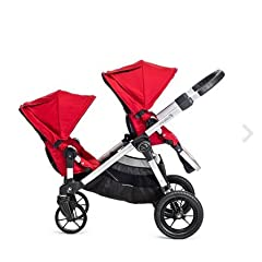 Baby Jogger 2014 City Select Stroller WITH Doubles Kit (Red) by BaJogger