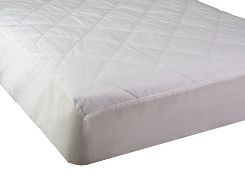 """Abstract Fitted Quilted Waterproof Crib Mattress Cover (24"""" X 38"""")"""