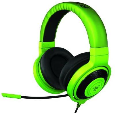 Razer Kraken Pro - Greenアナログ接続 ステレオ ゲーミング ヘッドセット 【正規保証品】 RZ04-00870100-R3M1