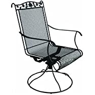 dib Global Sourcing JSM007L Wrought Iron Rocking Chair Pack of 2