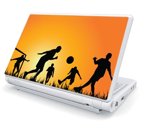Twilight Soccer Game Decorative Protector Skin Decal Sticker for 11 - 12 inch Netbook Notebook Laptop Computer