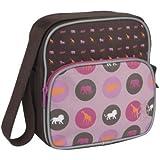 Lässig LMSQ128 - Kindergartentasche Mini Square Bag Mushroom, magenta