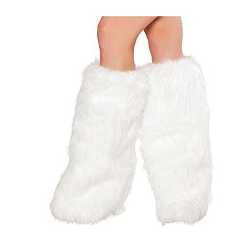 Y&T Sleigh Belle Costume for Christmas Velvet Beauty Santa Girl Boots (Sleigh Belle Sexy Costume)