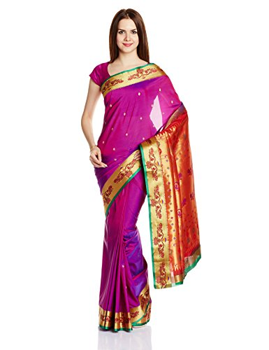 Dor Artificial Silk Saree with Blouse Piece