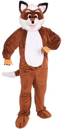 Fox Mascot Costume - Adult Std.