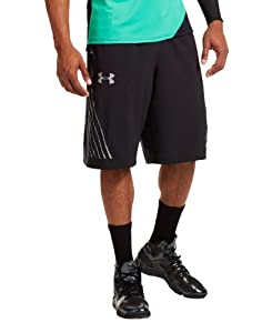 Under Armour Mens UA Heat Checkin Woven Basketball Shorts by Under Armour