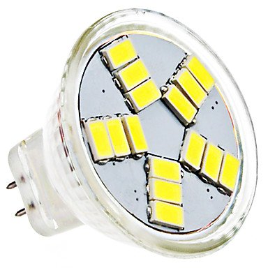Mr11 4W 15X5630Smd 380-420Lm 6000-6500K Natural White Light Led Spot Bulb (Ac 12V)