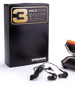 【Amazon限定】国内正規品 50周年モデル復刻版 Westone 3 ゴールドエディション WST-WESTONE3-GOLD