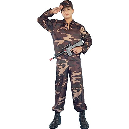 [Forum Novelties Army Soldier Teen Costume] (Military Costumes For Teens)