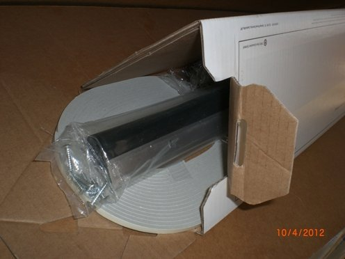 36\ w Soundproofing Transom Door Sweep Kit w/ 25\u0027 Doorseal Tape and Mounting Screws. FREE SHIPPING & 36\