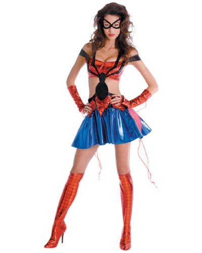 Spider-Girl Adult Prestige Costume S 4-6 AKA Daughter Of Spider-Man Marvel Collection