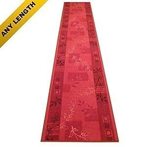 Agadir Red   Long Hall & Stair Carpet Runner       Customer reviews and more information